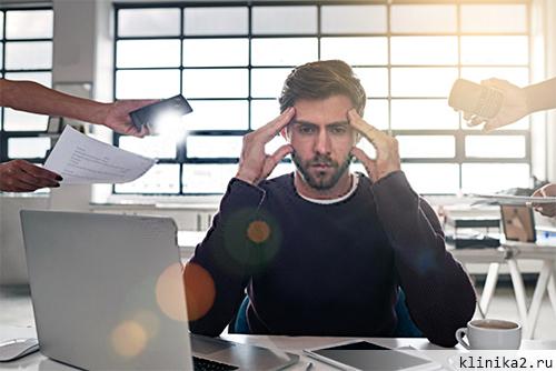 Пролактин повышенный у мужчин - стресс